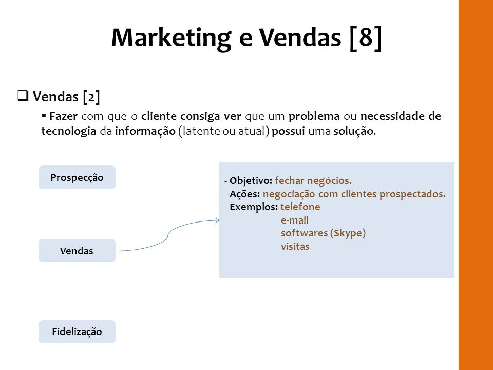 Marketing e Vendas [8] RILAY Vendas [2]